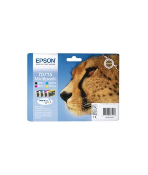 Epson Multipack T0715 B C M Y Cartridge