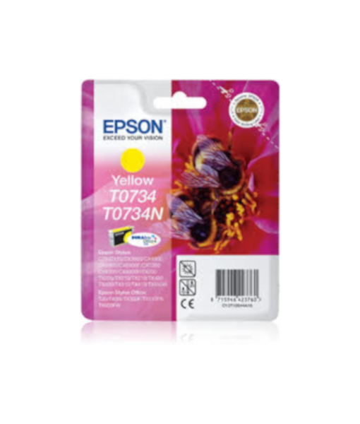 Epson T0734 Yellow Cartridge