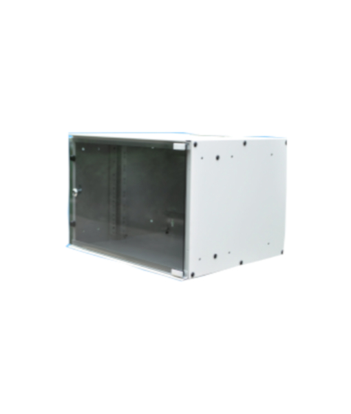 NETWORK CABINET 7U 520-450MM LIGHT GREY