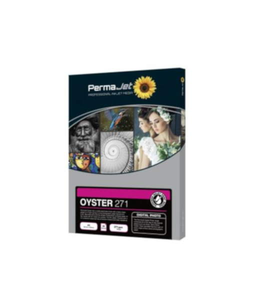 Permajet Oyster Inkjet Paper A4 (271gsm) x 100 J50915