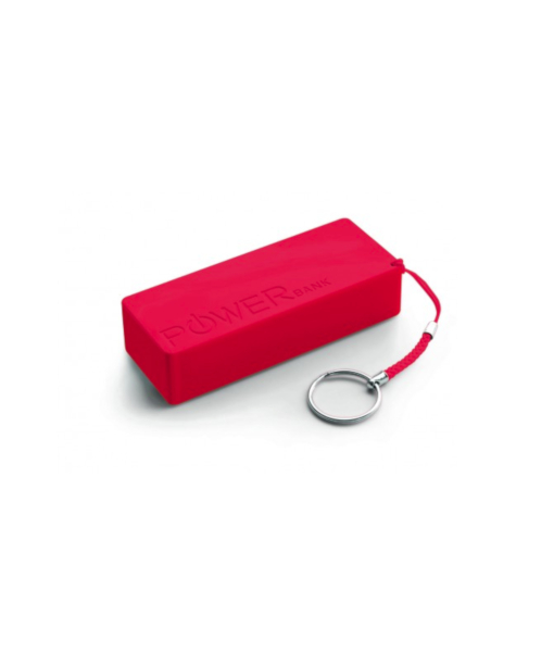 EXTREME POWER BANK QUARK XL 5000MAH red